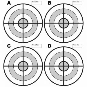 Printable Paper Targets for Pistol Shooting