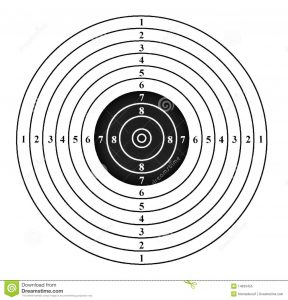 Printable Pistol Rifle Targets 8.5 X 11