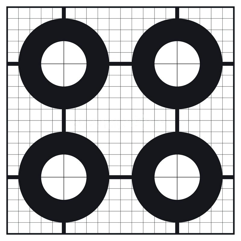 picture relating to Printable Shooting Targets 11x17 known as 60 Pleasurable Printable Goals