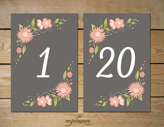 It's just a graphic of Shocking Free Printable Table Numbers 1-20