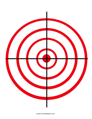 photo regarding Funny Printable Shooting Targets titled 60 Enjoyable Printable Aims