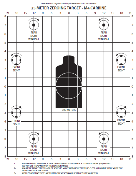 photo relating to Ar15 25 Yard Zero Target Printable identify 60 Enjoyable Printable Objectives
