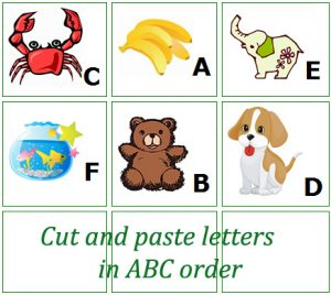 Alphabetical Order Worksheet Preschool
