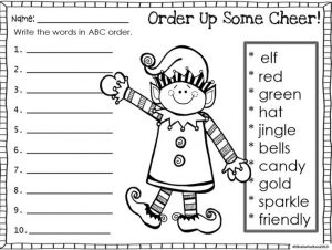 Alphabetical Order Worksheets for Grade 5