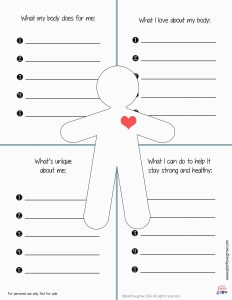 Building Self Esteem Worksheets
