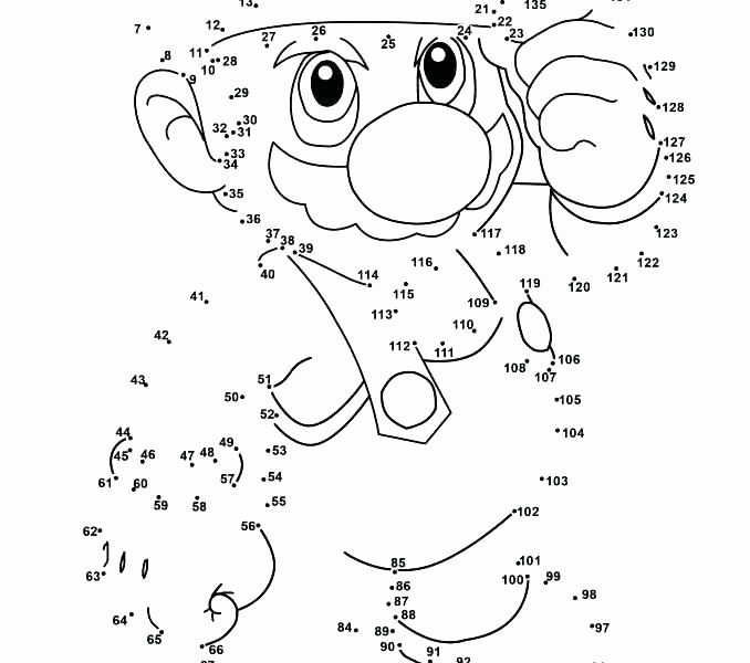 72 Free Dot To Dot Printables Kittybabylove Com