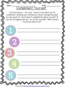 Gratifying image within self esteem test printable