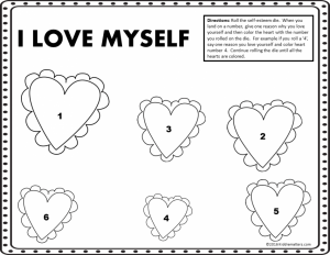 Self Esteem Worksheets for Teens