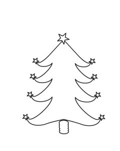 Blank Christmas Tree Printable