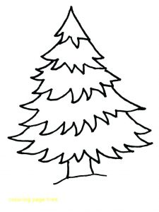 Christmas Tree Outline Printable