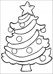 Christmas Tree Print Out