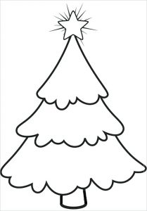 Christmas Tree Stencil Printable