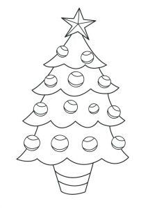 Christmas Tree Template For Felt Decorations