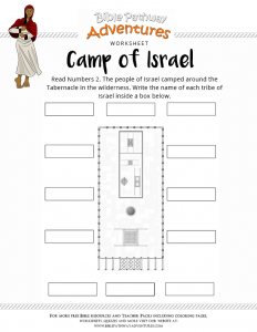 Free Bible Worksheets for Kids