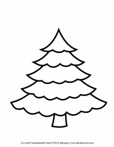 Free Printable Christmas Tree Clipart