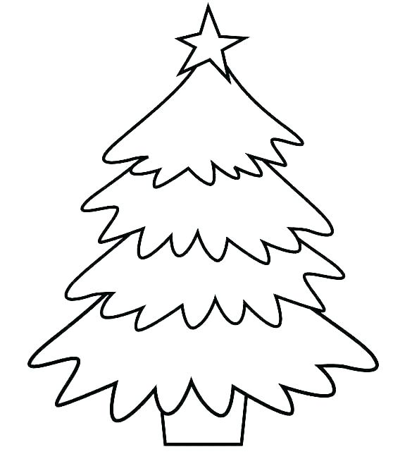graphic about Printable Christmas Tree referred to as 50 Xmas Tree Printable Templates