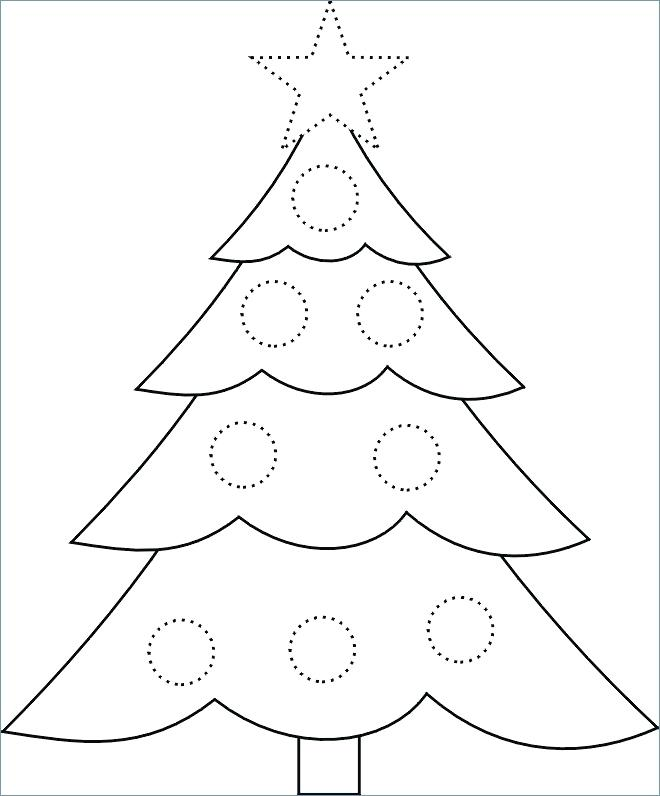 This is an image of Enterprising Free Printable Christmas Tree Template