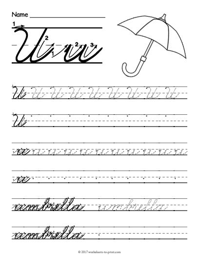 70 cursive worksheets for handwriting practice. Black Bedroom Furniture Sets. Home Design Ideas