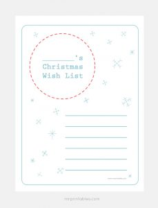 List of Christmas Wishes