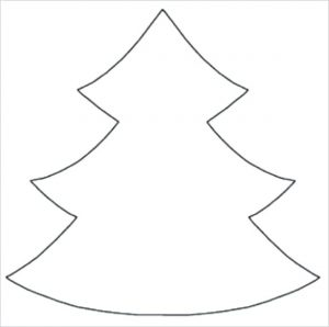 Printable Large Christmas Tree