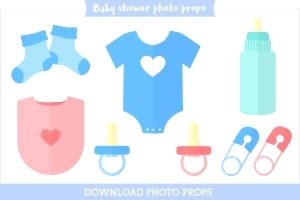 Baby Shower Photo Booth Props Printable
