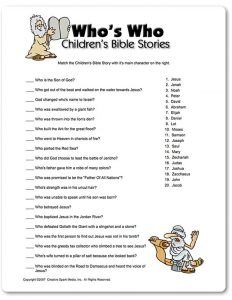 Bible Trivia for Christmas Questions and Answers