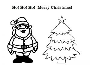 Christmas Greeting Cards to Color