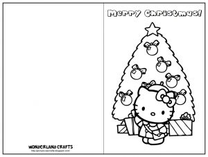 Coloring Pages Christmas Cards