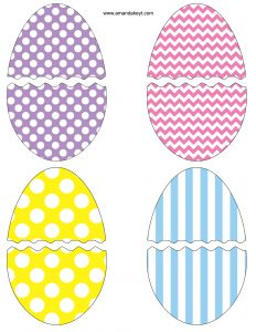 Easter Photo Booth Props Printable