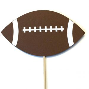 Football Photo Booth Props Printable