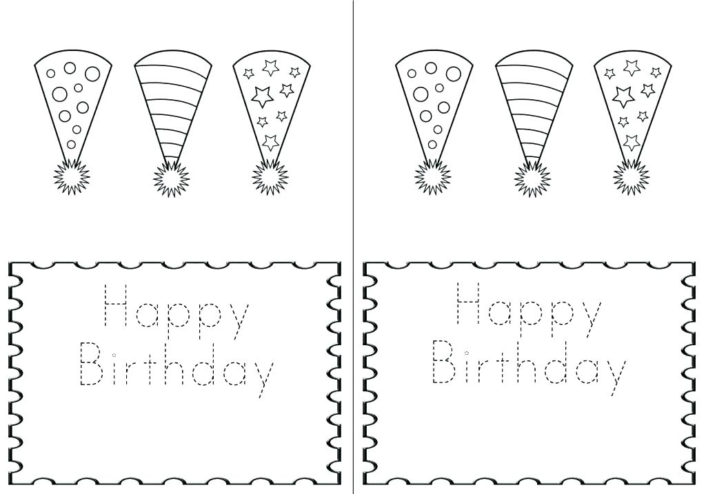 50 Gorgeous Coloring Birthday Cards Kittybabylove Com