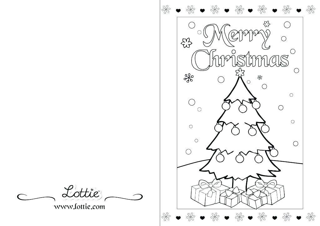 This is an image of Exceptional Printable Coloring Christmas Cards