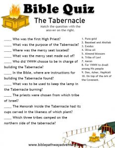 Free Trivia Questions from the Bible