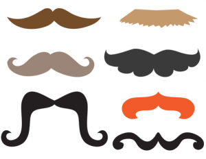 Mustache Photo Booth Props Printable