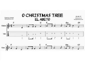 Oh Christmas Tree Sheet Music Piano