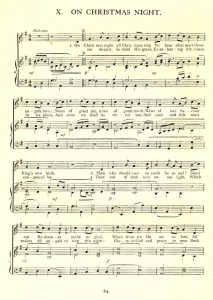 On This Very Christmas Night Piano Sheet Music