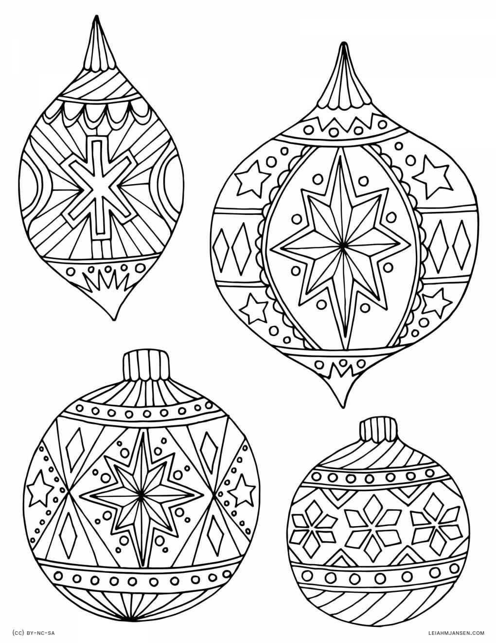 It's just an image of Impeccable Christmas Ornaments Printable
