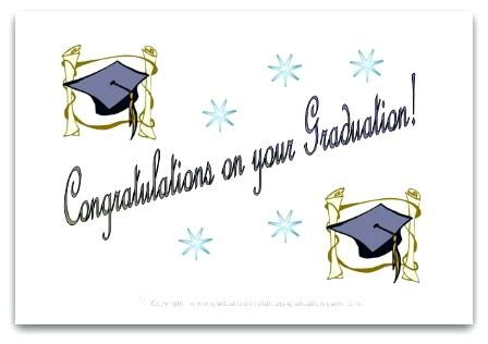 photograph relating to Printable Graduation Cards named 22 Beautiful Printable Commencement Playing cards