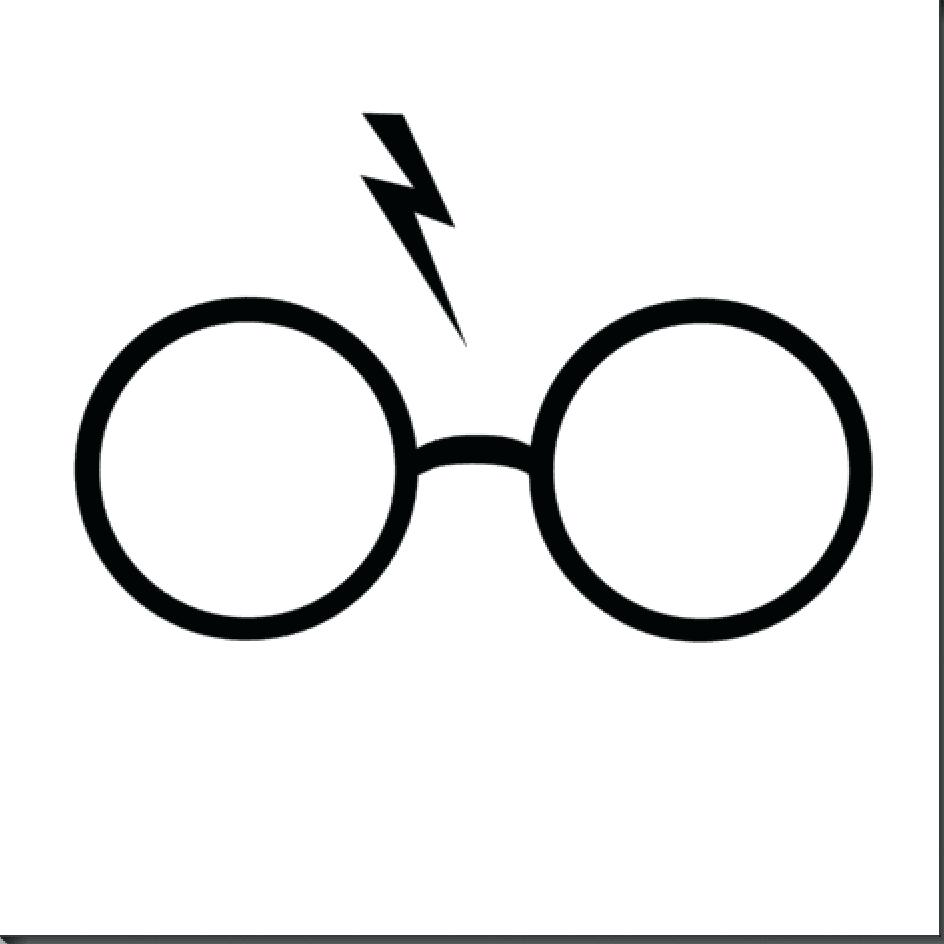 photo about Harry Potter Glasses Printable identified as 58 Printable Photograph Booth Props