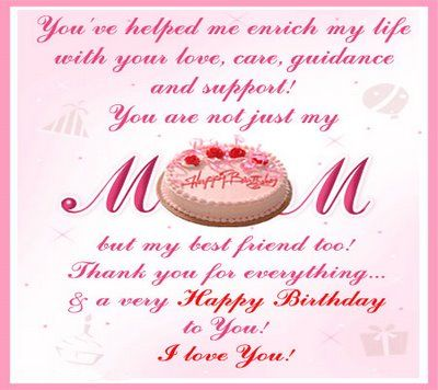 Tremendous 38 Beautiful Birthday Cards For Mom Kittybabylove Com Personalised Birthday Cards Bromeletsinfo