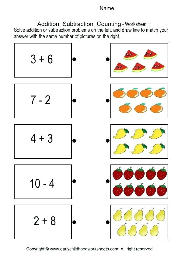 70 Addition and Subtraction Worksheets   KittyBabyLove.com