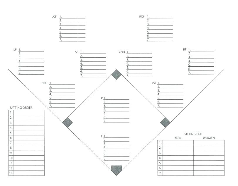 Juicy image intended for printable baseball lineup card