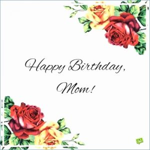 Birthday Cards for Mom from Daughter Printable