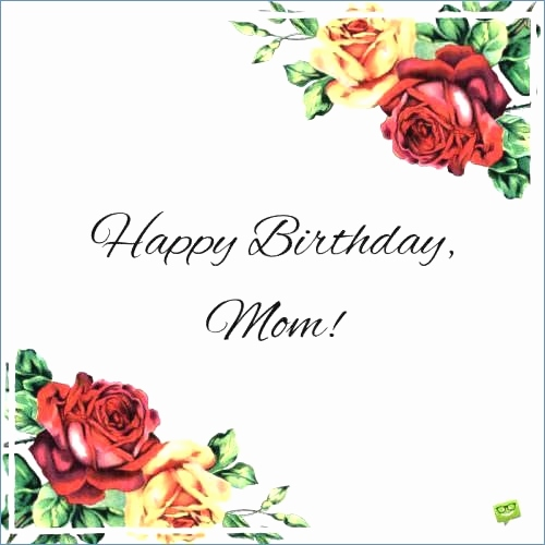 image relating to Birthday Cards for Mom From Daughter Printable identified as 38 Attractive Birthday Playing cards For Mother