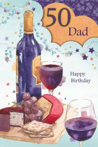 Dad 50th Birthday Card
