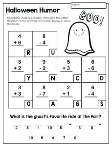 Free Addition and Subtraction Worksheets for 2nd Grade
