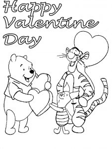Disney Valentines Coloring Pages Printable bell rehwoldt