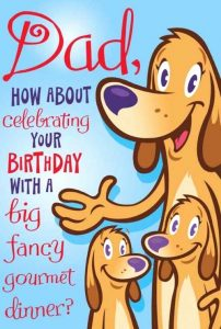 Free Printable Funny Birthday Cards for Dad
