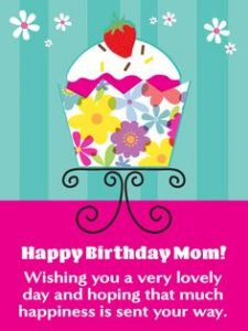 Greeting Card for Mom Birthday