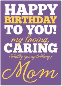 Greeting Cards for Mom Birthday